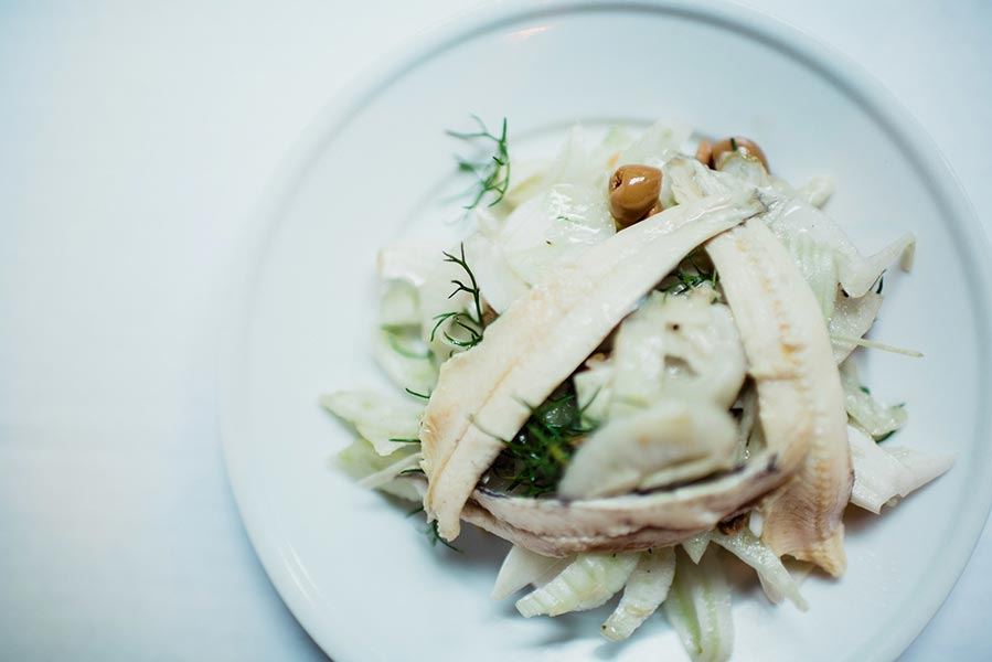 White Anchovies And Fennel Salad