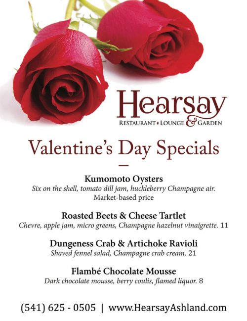 Valentines Day At Hearsay Hearsay Restaurant Lounge And Garden